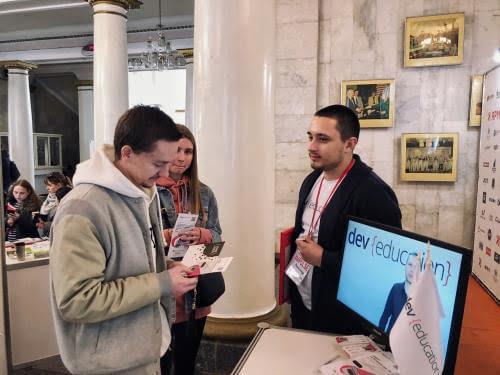 В Украине прошла ярмарка вакансий Impulse с участием компании DevEducation