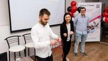 Большое событие для образования в Киеве - открылся новый отдел школы DevEducation